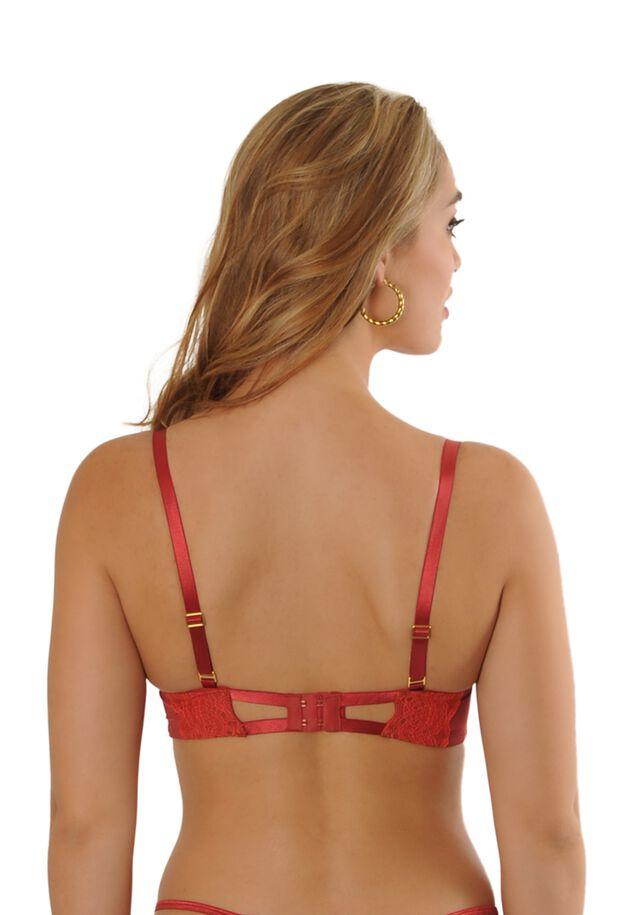 Scarlet balcony bra image number 4