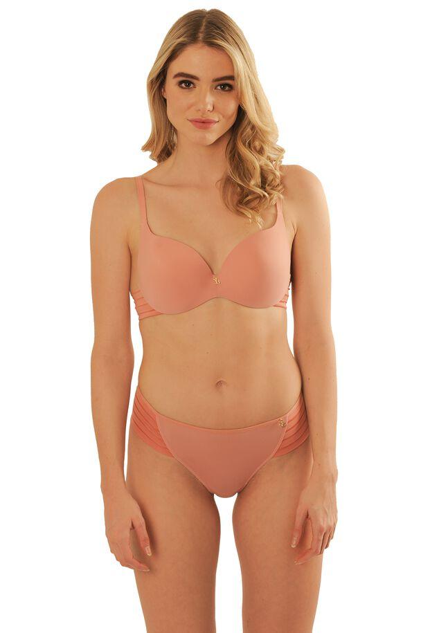 Iconic basics light PU bra image number 3