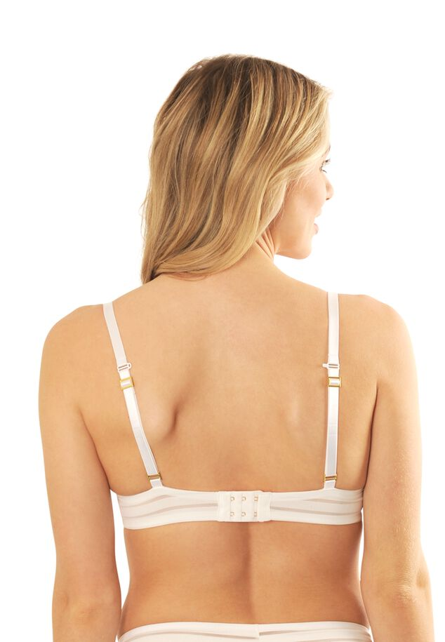 Iconic Basics light PU bra image number 4