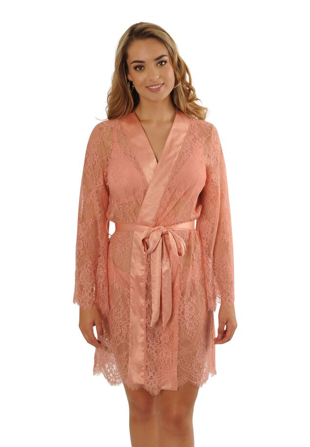 Cerise kimono image number 2