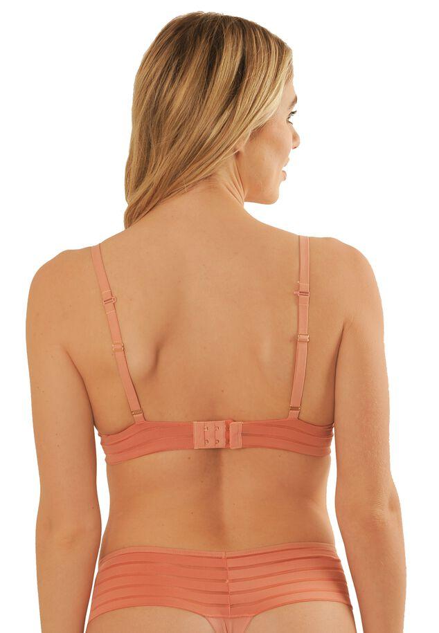 Iconic basics light PU bra image number 4