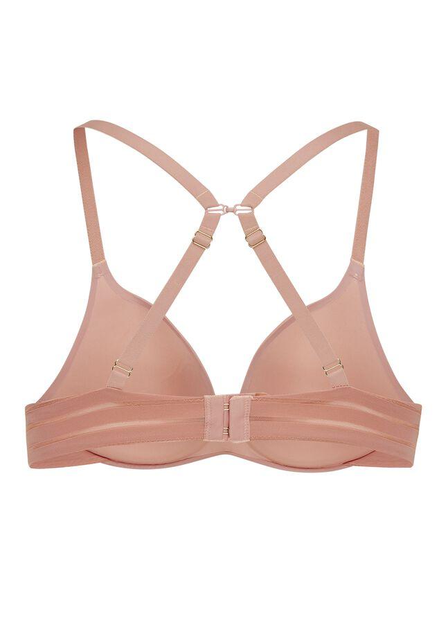 Iconic basics light PU bra image number 1